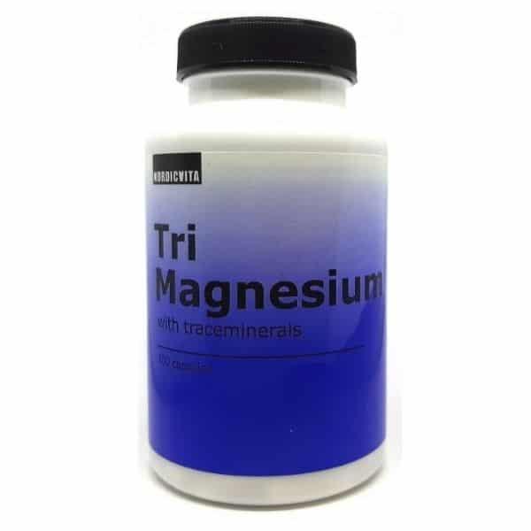Tri magnesium 100 kaps - Nordicvita
