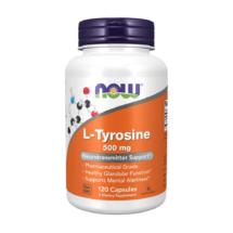 L-tyrosine 500mg 120 kaps – Now foods