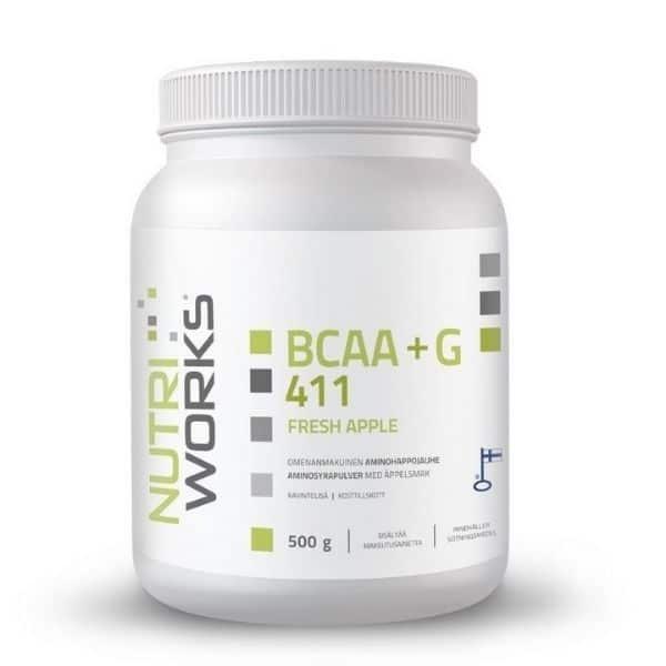 BCAA 411 Omena 500g - Nutriworks