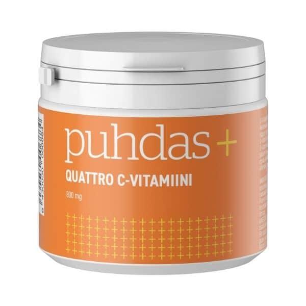 Puhdas+ Quattro C-vitamiini 200g