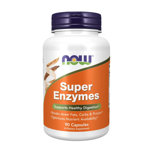 Super Enzymes 90 kaps – Now foods