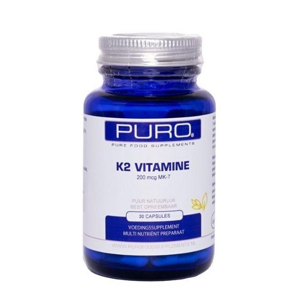 K2-vitamiini 30 kaps. - Puro