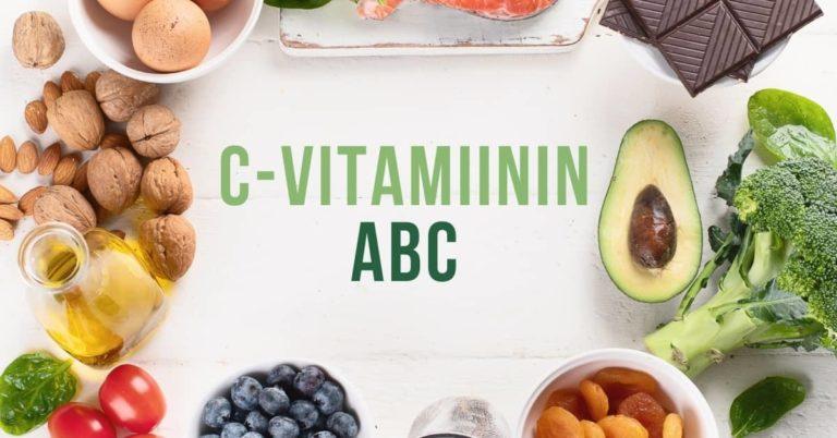 C-vitamiinin ABC – C-vitamiinin lähteet, C-vitamiinin puutos