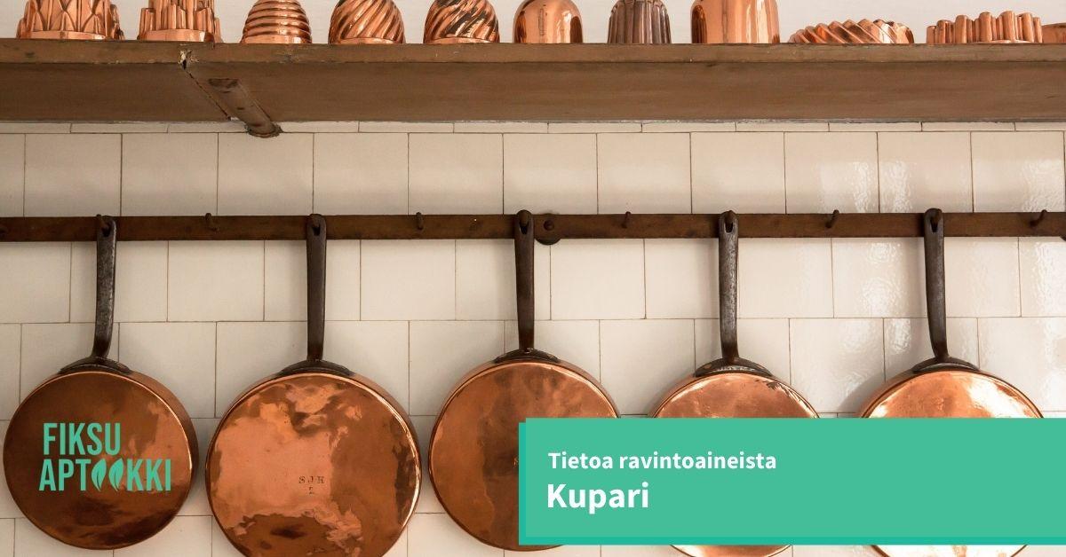 Mitä Kupari on Miksi kupari on tarpeellinen