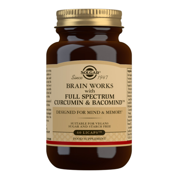 Solgar Brain works 60 kaps